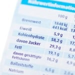 Nährwertangabe / nutrition facts
