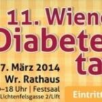 Diabetes Tag Wiener Rathaus