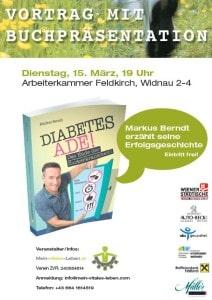 Buch präsentation in Feldkirch