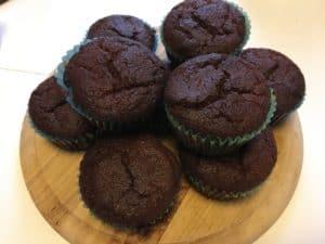Muffins mit Goji Beeren